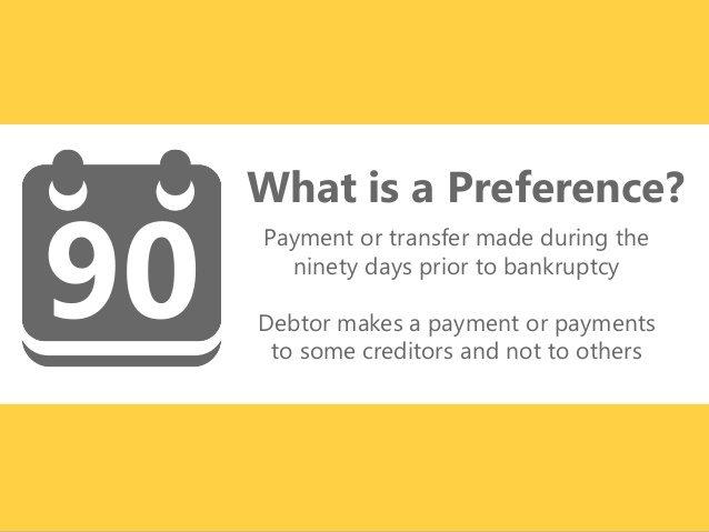Bankruptcy Preference