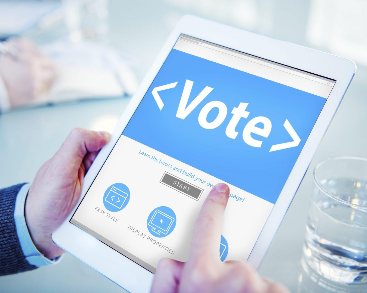 electronic voting community associations
