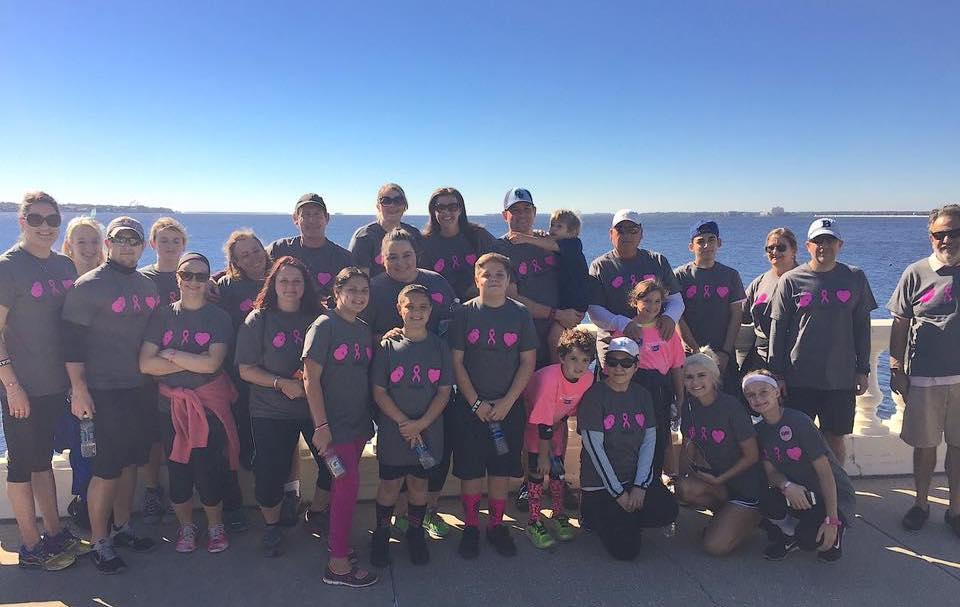 Law FIrm Community Breast Cancer Walk